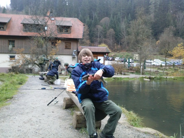 Fishing in the black forest november 2013 troop324 for Fishing in november