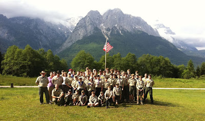Garmisch High Adventure Troop Camp June 2012