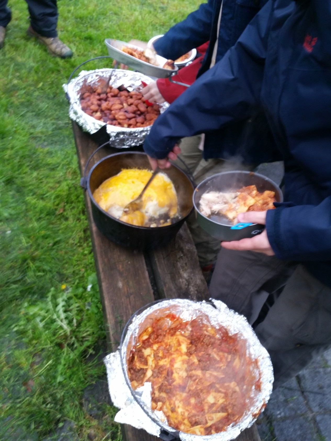 cooking campout dettingen 04.16