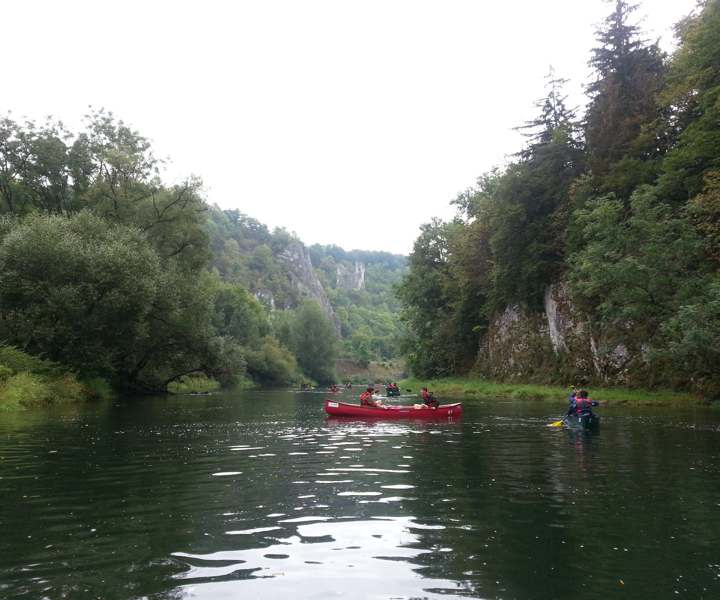 Danube Canoeing September 2013