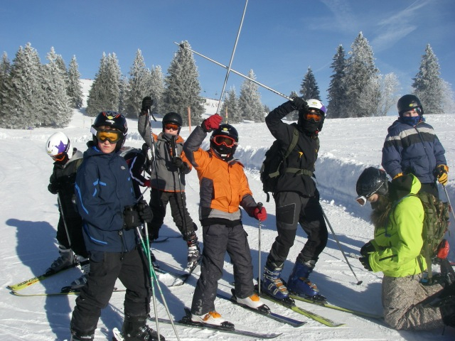 Feldberg Skiing February 2013